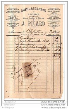 Vieux Papiers > Factures & Documents commerciaux > France > Droguerie & Parfumerie - Delcampe.net