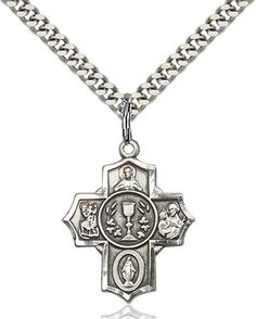 Millennium Crucifix Pendant (Sterling Silver) by Bliss | Catholic Shopping .com