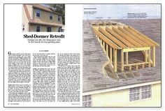 HOW TO FRAME A SHED DORMER SEARCH RESULTS › POPULAR WOODWORKING ...
