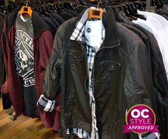 Casual jackets and hoodies - Oshawa Centre Style Approved by - Find it at Bootlegger Casual Jackets, Motorcycle Jacket, Centre, Leather Jacket, Hoodies, Style, Fashion, Studded Leather Jacket, Swag