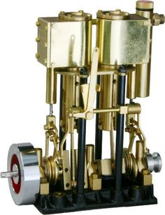 Eisco Labs Steam Engine Model with Boiler   Engine, Motor engine and