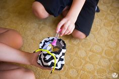 """Kill summer time boredom by playing a game called """"Story in a Bag."""" This easy to make game fosters relationships and creativity in children."""