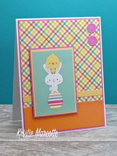 Easter is right around the corner, so I decided to get started on Easter cards. I used an older Doodlebug Design paper pad called Easte. Birthday Cards, Birthday Images, Birthday Quotes, Birthday Greetings, Birthday Wishes, Happy Birthday, Spellbinders Cards, Mothers Day Cards, Card Making Inspiration