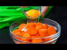 Stačí vám jen mrkev a vejce a připravíte nejměkčí a nejchutnější muffiny| Cookrate - Czech - YouTube Snacks Für Party, Biscotti, Pizza, Google, Ajouter, Impreza, Youtube, Carrot Muffins, Cooked Baby Carrots