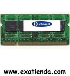Ya disponible Sodimm. ddr2 integral 2gb/800   (por sólo 39.99 € IVA incluído):   -Tecnología: DDR2 2GB -Factor de forma:SoDIMM -Pins: 200 -Voltaje: 1.8v -Corrección de errores: no ECC -Buffer:  Sin memoria intermedia -Latencia CAS (Ciclos): 3 -Tipo: PC2-6400 -Velocidad: 800 Mhz  -P/N:IN2V2GNXNFI Garantía de 24 meses.  http://www.exabyteinformatica.com/tienda/359-sodimm-ddr2-integral-2gb-800 #memoria #exabyteinformatica