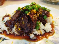 short ribs | Asian-Style Braised Short Ribs Adapted from a recipe courtesy Emeril ...