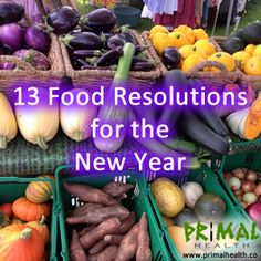 13 Food Resolutions for the New Year