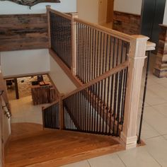 Sinker Pine Stairs – Aren't They Gorgeous?