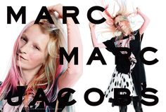 Ana Viktoria Dzinic for Marc by Marc Jacobs spring 2015. Photo: David Sims