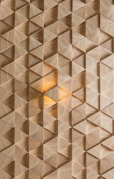 Wooden wall tiles with one LED element. Area : 1 pc = 10 pc = 11 pc = Light can be or price for one piece - from side to side of hexagon. thickness of pieces - 8 mm, and All pieces are polished and glued to Wooden Accent Wall, Wooden Wall Panels, Wooden Walls, Wood Wall Art, Wooden Wall Tiles, 3d Wall Painting, 3d Tiles, Wall Cladding, Wood Patterns