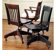 Love A Library Or Bankers Chair Like This For My Antique