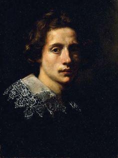 Francesco Curradi, Portrait of a Man in Black, 1611