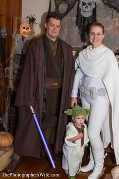 As promised, here is a little rundown of our Halloween costumes this year. Brett was Anakin Skywalke...