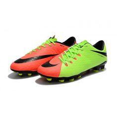 separation shoes 1881a 1f249 Botas de fútbol de hombre Nike Hypervenom Phelon 3 FG Verde Naranja Negro