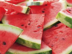 * Watermelon has the highest concentrations of lycopene of any fresh fruit or vegetable. Lycopene is a powerful antioxidant that helps fight heart disease and several types of cancer — prostate cancer in particular.        * Watermelon is a great source of potassium, which helps muscle and nerve function, helps maintain the body's proper electrolyte and acid-base balance, and helps lower the risk of high blood pressure. Think coconut water or Gatorade.        * Watermelon is loaded with Vitam...