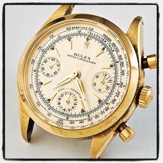 Rolex Chronograph ref. 6234. #rolex #oyster #chronograph #watch #vintagerolexapp #johngoldberger