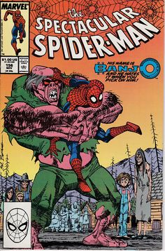 The Spectacular Spider Man Issue 156 November 1989  Marvel