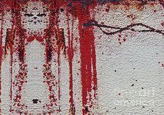 Junkyard Rust Hieroglyphics Abstract by Lee Craig. Fine art prints for sale. #abstractart #hieroglyphs #rustanddecay