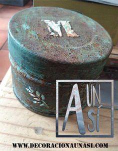 oxidacion de metales, caja