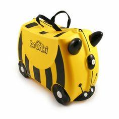 Trunki barnekoffert gul veps