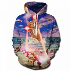 HEHE TAN Mens Pocket Hoodies Funny Horse Rider US Flag Casual Pullover Workout Hooded Sweatshirt