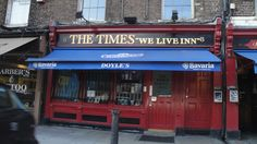 Stayed at the Times Hostel & frequented Doyle's Pub... On College St in Dublin.