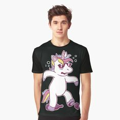 Unicorn Graphic, My T Shirt, Hoodies, Sweatshirts, Chiffon Tops, Cool Designs, Classic T Shirts, Printed, Awesome