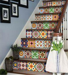 Tile Decals, Wall Decal Sticker, Wall Tiles, Backsplash Tile, Peel And Stick Tile, Stick On Tiles, Kitchen Decals, Kitchen Tile, Kitchen Design