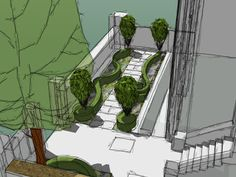 Carlyle Square | Projects | Richard Miers - Garden Design Garden Design, Projects, Log Projects, Backyard Landscape Design, Landscape Designs, Yard Design