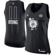 2018 All-Star NBA Boston Celtics Jersey   Kyrie Irving Jordan Swingman  Women s Black Nike Jersey e2ca95ef3571