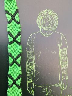 Ed Sheeran 'Multiply' Friendship Bracelet door WristsAre4Bracelets