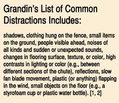 Temple Grandin handling solutions