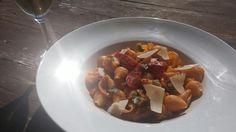 Veggies pasta shells.