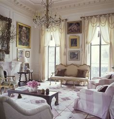 Garden District, New Orleans. Interior Design by Richard Keith Langham ...
