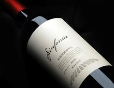 Branding + packaging Sinfonia Wines