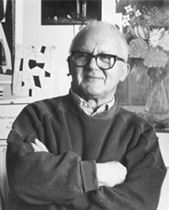 Paul Rand, American Modernist (1914-1996)  graphic designer, best known for his corporate logo designs, including IBM, UPS, Enron, Westinghouse, ABC, and Steve Jobs's NeXT. He was one of the originators of the Swiss Style of graphic design.Pratt Institute (1929–1932), Parsons The New School for Design (1932–33), and the Art Students League (1933–1934). From 1956 to 1969, and beginning again in 1974, Rand taught design at Yale.