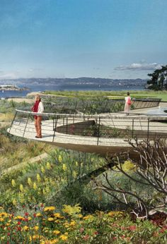 Presidio Parkway Project, James Corner Field Operations, world architecture news, architecture jobs