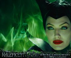 See Angelina Jolie's wickedly good performance as Disney's iconic and misunderstood villain, Maleficent! On Blu-ray & Digital HD Nov 4! http://di.sn/rhf