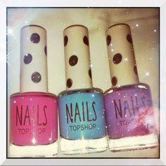 Mitt liv som Toril :o): Topshop nail candy Nail Candy, Topshop, Nail Polish, Nails, Beauty, Finger Nails, Ongles, Nail, Cosmetology