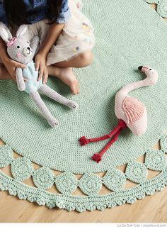 Bondville: New La De Dah Kids winter 2015 crochet toys and homewares