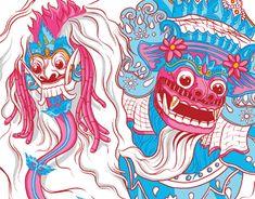 """Check out new work on my @Behance portfolio: """"Rwa Bhineda"""" http://be.net/gallery/63209315/Rwa-Bhineda"""