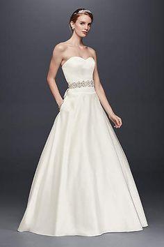 40 beautiful wedding gown ideas for short women fashion wedding dresses bridal gowns davids bridal junglespirit Images