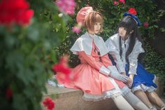 友 - Yukari(ゆかり) Tomoyo Daidouji, Akizora(秋空) Sakura Kinomoto Cosplay Photo - WorldCosplay