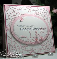 Happy Pink Birthday (FG) by Francie G. - Cards and Paper Crafts at Splitcoaststampers