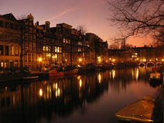 The canals of Amsterdam- this city is truly one of the most beautiful cities I've been to. The culture and liveliness is contagious. Sitting by those canals with one of my best friends at sunset was one of my most memorable nights.