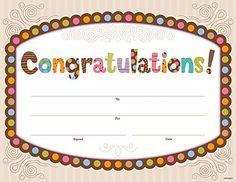 Creative Teaching Press Dots on Chocolate Congratulations Large Award (1395) Creative Teaching Press http://www.amazon.com/dp/B00BYA4JB6/ref=cm_sw_r_pi_dp_4iEVtb15VZ5RH90Z