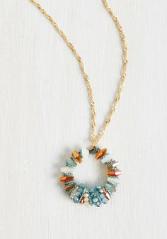 Duly Adorned Necklace, @ModCloth