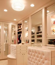 Gorgeous walk in closet