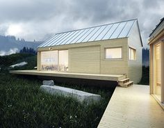 """Check out new work on my @Behance portfolio: """"FOG HOUSE VISUALIZATION""""…"""