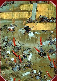Japanese History - The Sengoku period, or the Age of the Country at War in Japanese history was a time of social upheaval, political intrigue, and nearly constant military conflict that lasted roughly from the middle of the 15th century to the beginning of the 17th century. Its name is a reference to the Warring States period in ancient China, and it is sometimes called by that name in English.